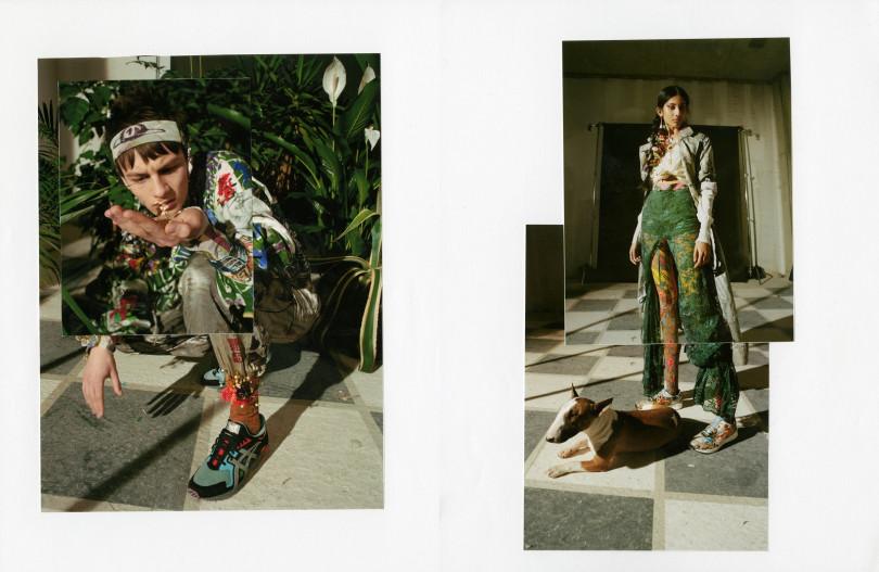 此次聯名形象照再次聯手英倫最具潛力造型師Anna Trevelyan及擅長街頭風格的英倫攝影師Dexter Navy共同操刀,讓此次聯名更增加了一抹迷幻狂野的魅力。(圖/ASICSTIGER提供)