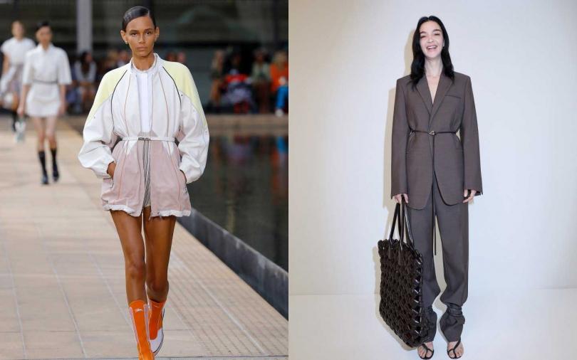 左至右:Longchamp、BOTTEGA VENETA(圖/品牌提供)