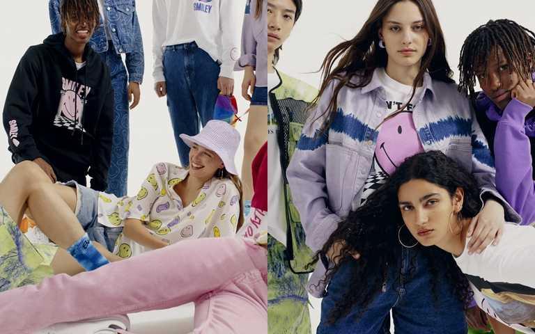 運用兩個品牌積極樂觀的時尚哲學,結合而生創意藝術的時裝舞台。(圖/Pull&Bear)