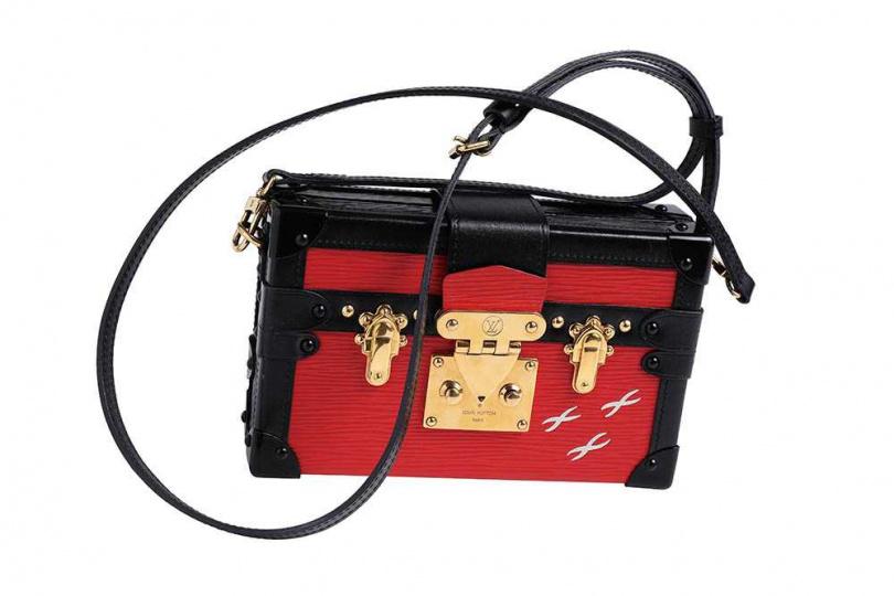 LOUIS VUITTON Petite Malle手袋/約20,000萬(攝影/戴世平)