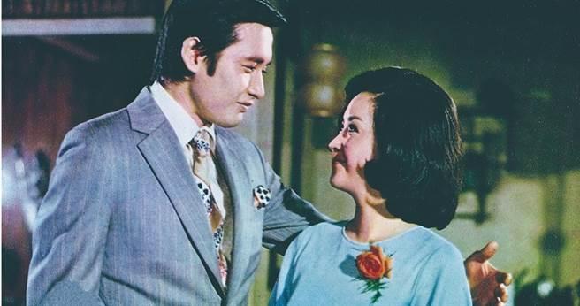 電影《心有千千結》是秦祥林(左)在1970年與甄珍一起主演的。(圖/高雄市電影館提供)