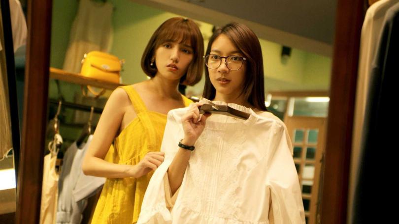 Dora(左)在網劇當陳妤閨蜜。(圖/劇組提供)