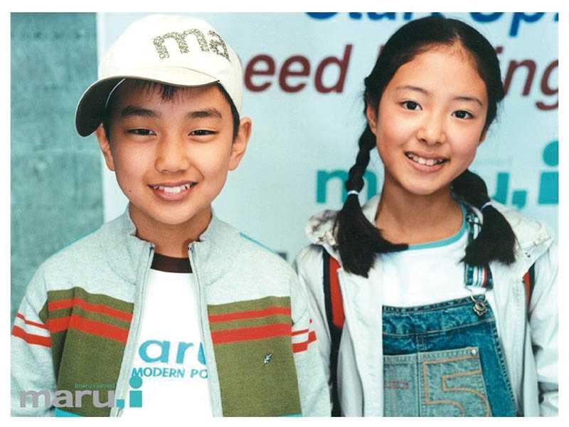 童星出身的俞承豪和李世榮曾合拍過廣告,資歷合計竟超過40年。(圖/翻攝自網路)