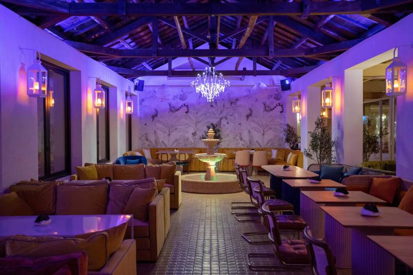 室內空間融合了歐洲造景與美式鄉村風情,也很適合包場或舉辦派對。