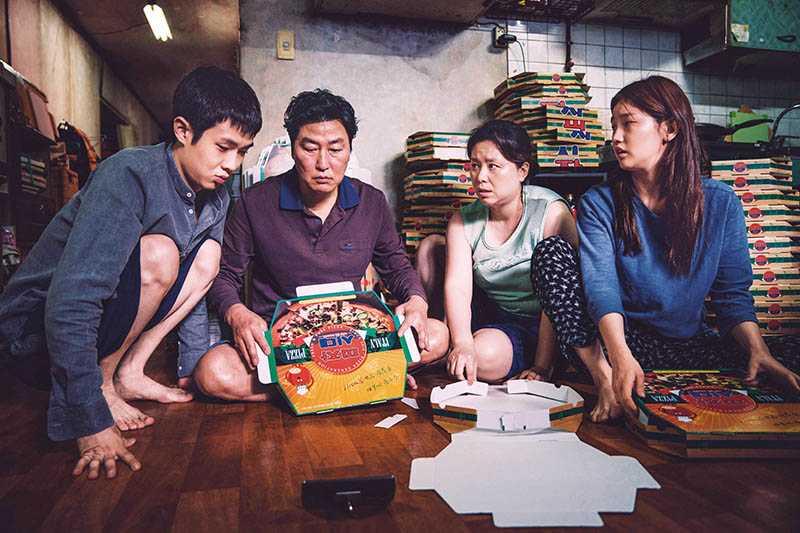 《寄生上流》打破韓國影史紀錄,一次入圍6項大獎,全世界都在關注。(圖/CatchPlay提供)