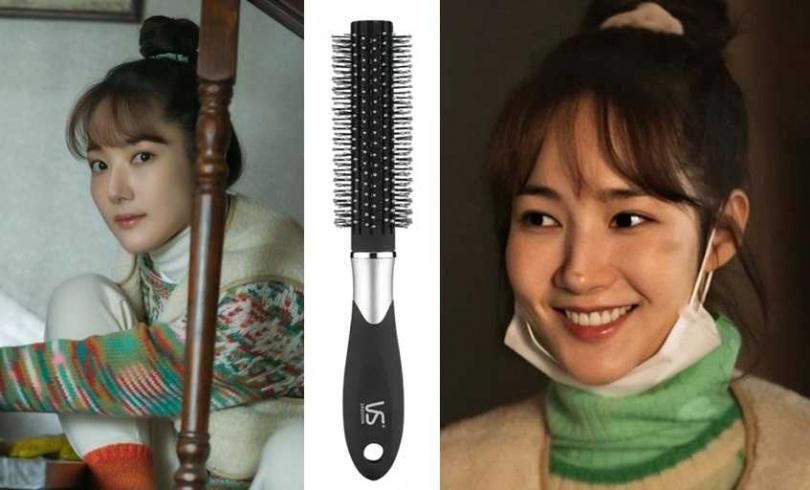 沙宣VSS76503BW輕柔系列-圓捲髮梳/229元(圖/翻攝網路)