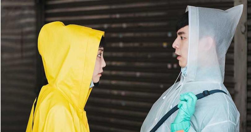 林柏宏與謝欣穎在劇中互動充滿粉色泡泡。
