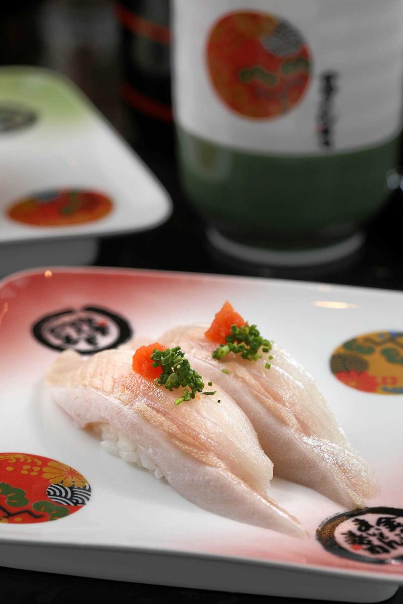 銀鱈握壽司。(圖/于魯光攝)