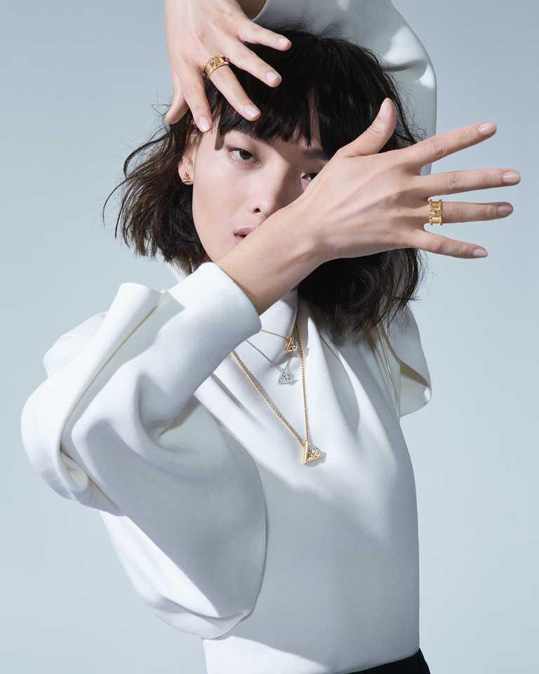 中國名模暨路易威登品牌摯友毛小星,曾參與2020年女裝秋冬大秀。(圖╱LOUIS VUITTON提供)