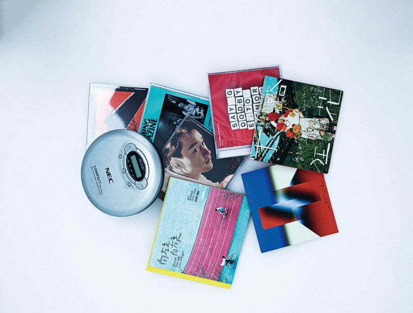 從小受媽媽薰陶,陳璇熱愛聽音樂,例如魏如萱的專輯《末路狂花》,還有經典電影《向左走向右走》的原聲帶。(圖/莊立人攝)