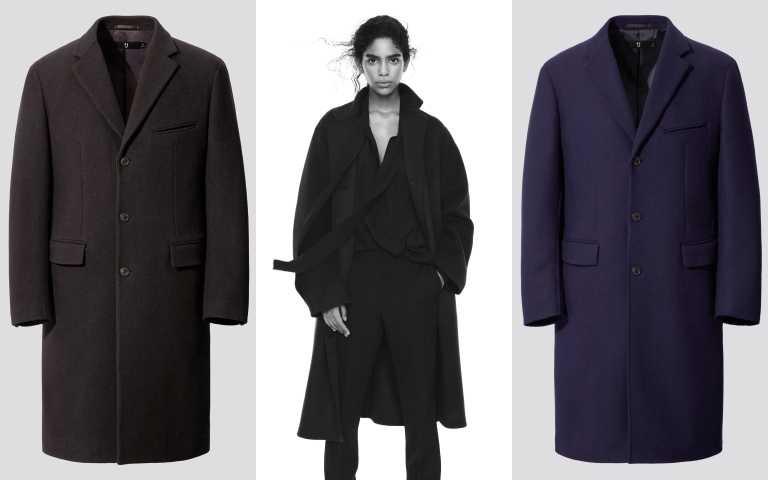 +J喀什米爾混紡寬版徹斯特大衣/7,990元;1+J羊毛混紡徹斯特大衣/7,990元。(圖/品牌提供)