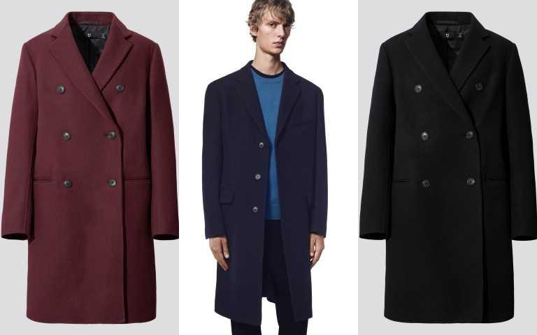 +J雙面織紋雙排扣大衣/7,990元(圖/品牌提供)
