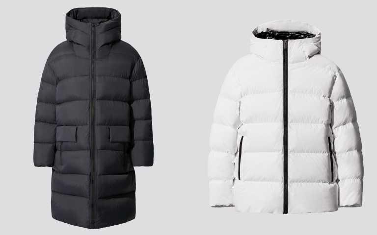 +J輕型蓬鬆連帽大衣/6,990元;+J輕型蓬鬆連帽外套/4,990元。(圖/品牌提供)