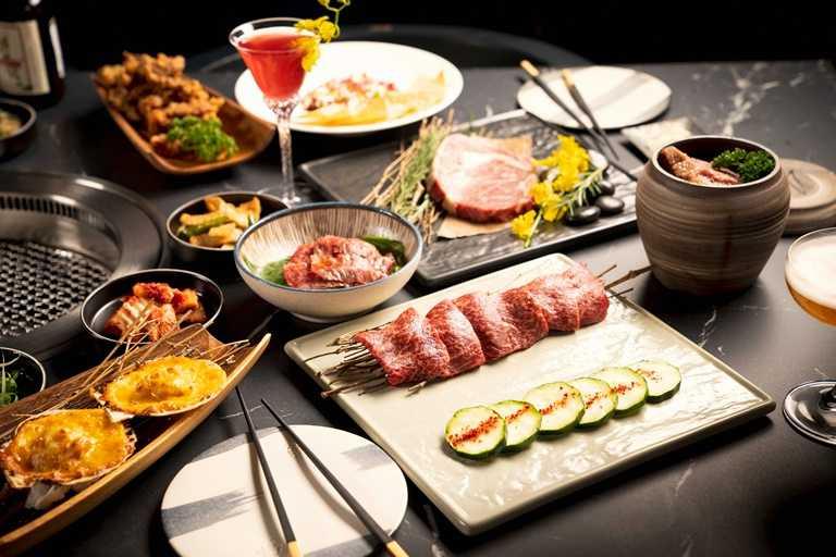 「虎三同」提供多種和牛料理,包括日本A5和牛與澳洲和牛,圖為澳洲和牛M9翼板牛。