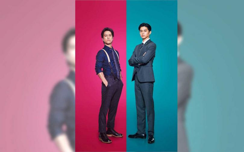桐谷健太(左)首次主演電視劇,卻因東出昌大(右)外遇影響收視率。(圖/翻攝自網路)