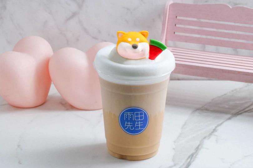部長鮮奶茶。(圖/雨田先生提供)