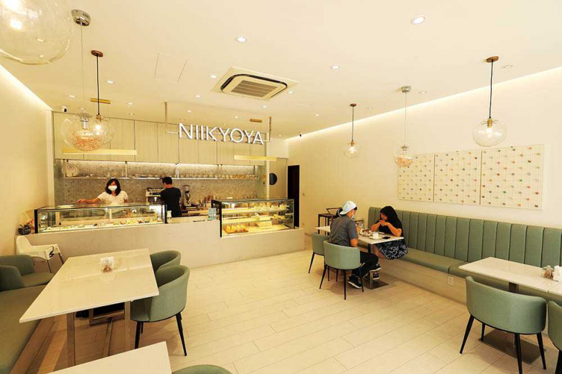 「日京屋」從店名到空間,都頗具日系風格。