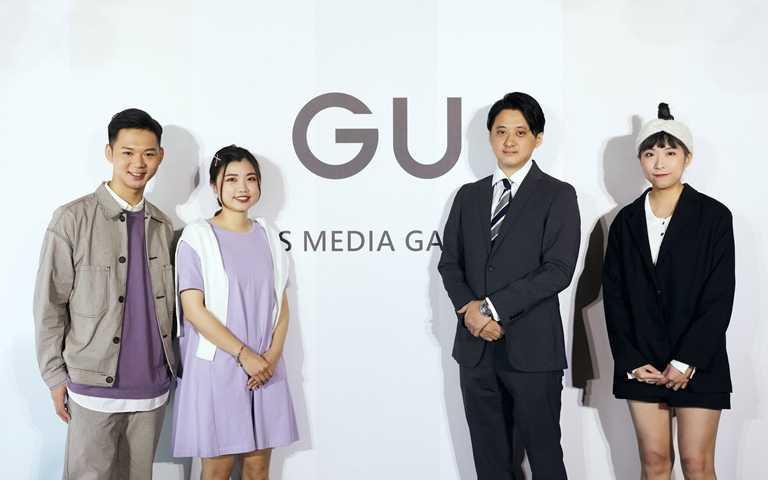 GU台灣事業COO福島信広先生與時尚顧問。(圖/GU)