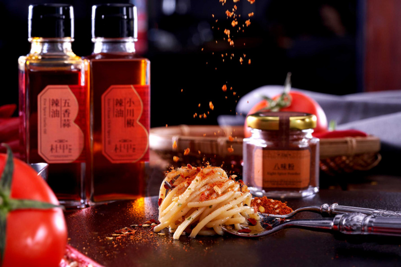 義式料理與在地辣椒品牌迸發出新火花。(圖/DA ANTONIO隨意鳥地方餐廳提供)