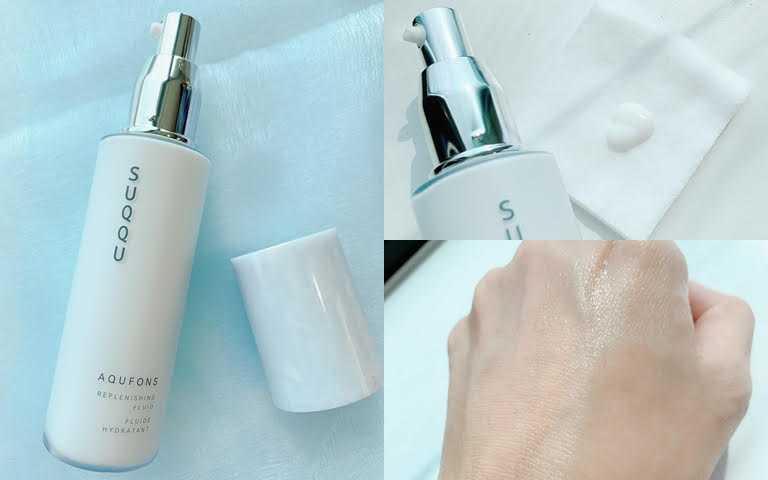 SUQQU水妍亮采乳125ml/5,700元建議搭配化妝棉使用,會在肌膚表面形成一層保水滋潤薄膜感。(圖/吳雅鈴攝影)