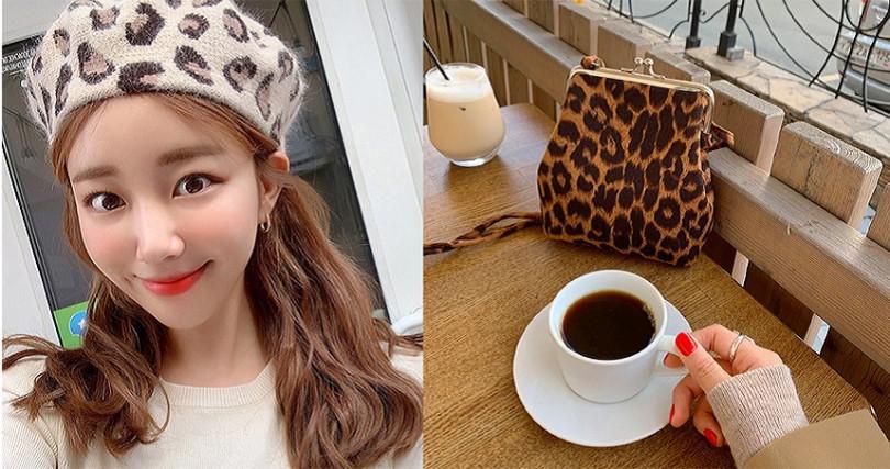 韓系網拍最近也推出一系列文青感動物紋單品,平日穿搭配一個不突兀更顯氣質。(圖/VIVAMOON)