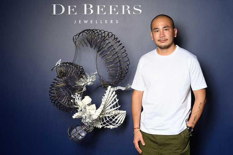 DE BEERS《Nature's Wonders頂級珠寶展》攜手知名藝術家李霽,打造一場別開生面的珍稀鑽石藝術展覽。(圖╱DE BEERS提供)