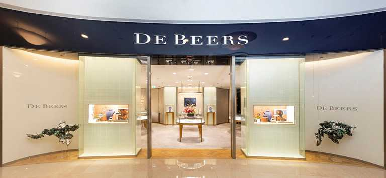 DE BEERS《Nature's Wonders頂級珠寶展》,即日起至5月10日止,於台北101精品店展出。(圖╱DE BEERS提供)