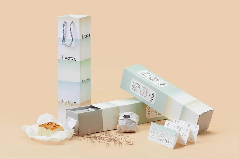 Hygge × 台北最強肉桂捲禮盒。(圖/Cutaway卡個位提供)
