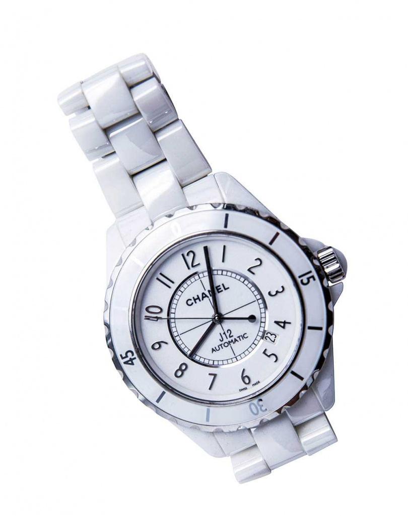 CHANEL J12碗錶/價格店洽(圖/莊立人攝)
