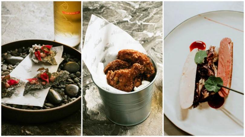雞肝西米露脆餅、經典中的經典豆乳炸雞、當鴨胸遇上雞胸