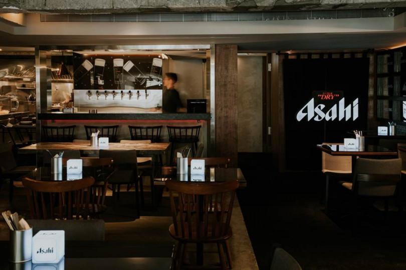 Asahi SUPER DRY台北快閃旗艦概念店。