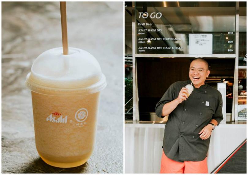 蜷尾家創辦人李豫為Asahi SUPER DRY設計「柚香啤酒雪泥」。