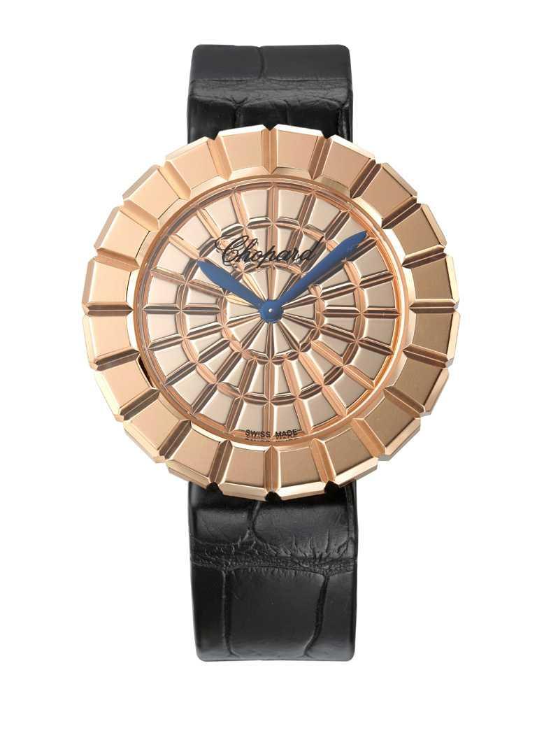 Chopard「Ice Cube Pure」系列腕錶╱418,000元