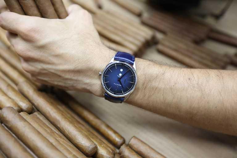 ZENITH「ELITE系列」月相腕錶,「ROMEO羅密歐」款╱253,900元。(圖╱ZENITH提供)