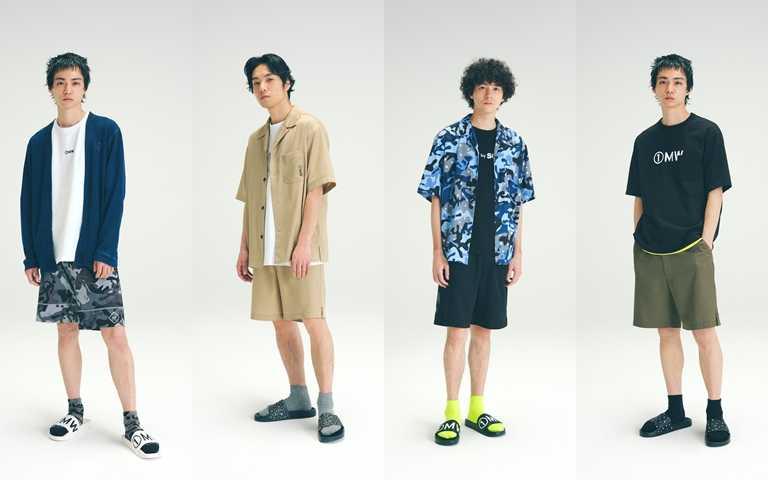 「1 MW by SOPH.」系列除了成人款式外,也提供童裝款式,今夏一起享受親子時尚。(圖/GU)