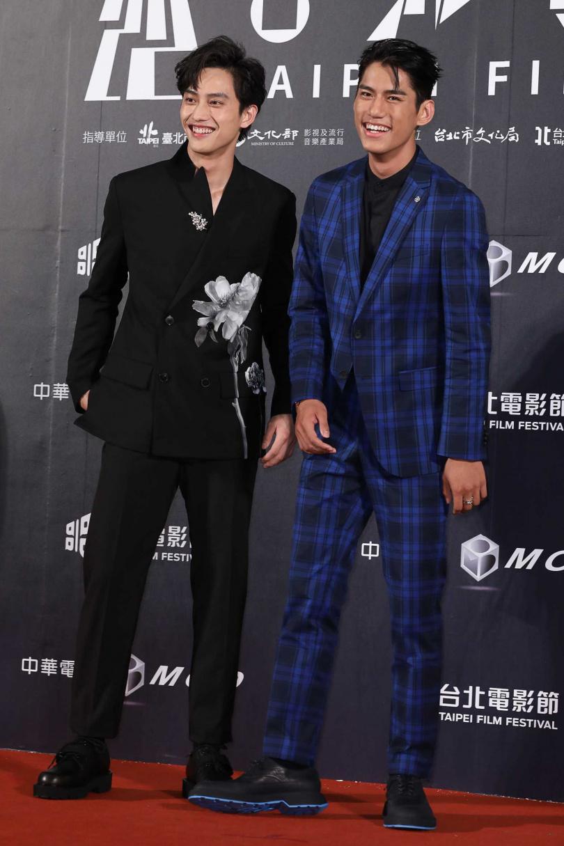 范少勳、朱軒洋合作《下半場》也一起受訪。(圖/攝影組)