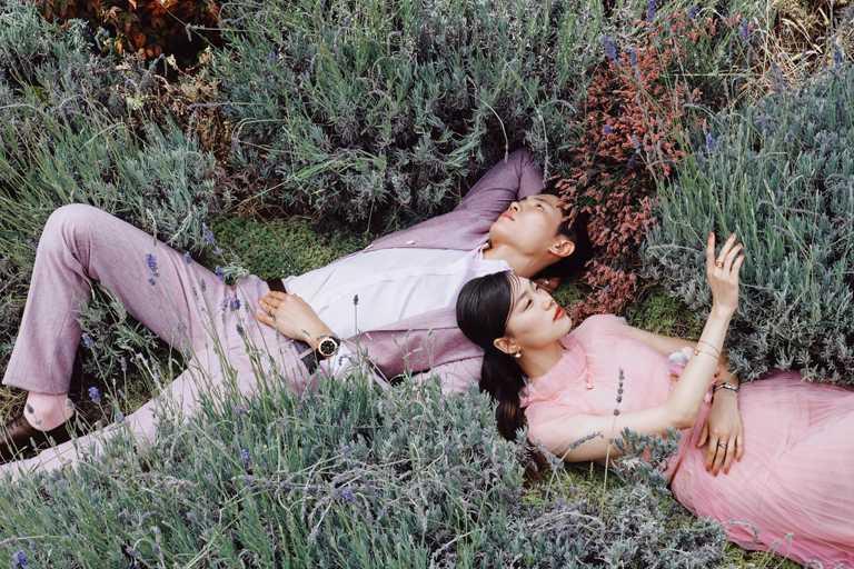 BVLGARI「2020七夕情人節限定」系列,甜蜜打造戀戀夏日浪漫花園。(圖╱BVLGARI提供)