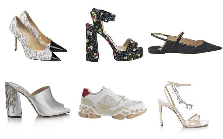 波西米亞風與時尚潮流結合,共同演繹全新系列。(圖/JIMMY CHOO)