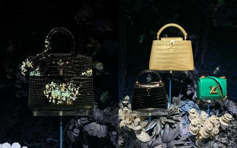 左為台灣專屬限定色「煙火」CITY STEAMER MINI,售價高達143萬。(圖/陳瑋 攝)
