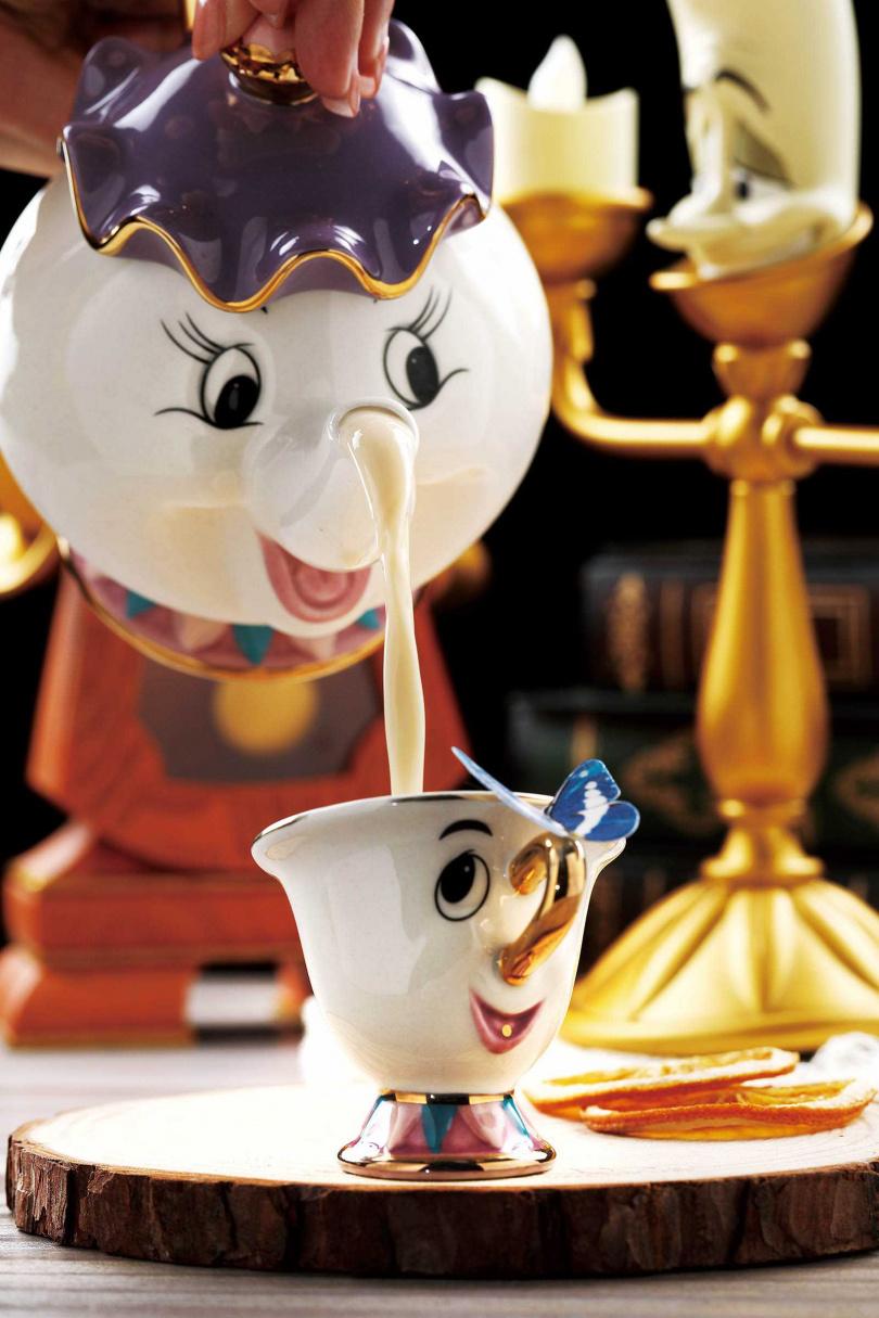 「You are my cup of tea」用伯爵茶燒酒與牛奶,營造奶茶般的風味,酒感醇厚卻十分順口。(400元)(圖/于魯光攝)