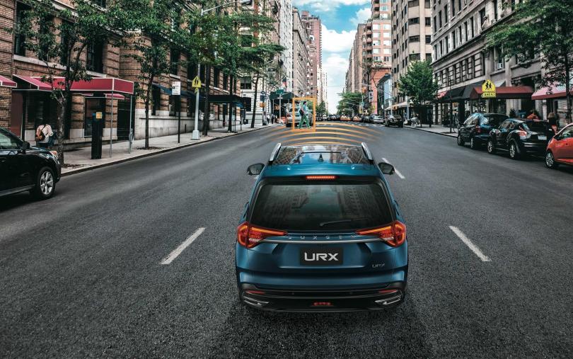 URX以84.8萬元起的售價切入大型休旅車市場。(圖/車商提供)