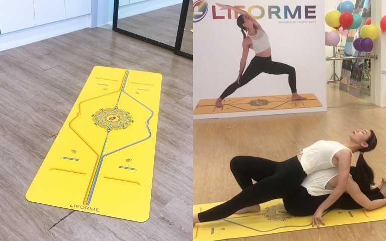 ACED Fitness UK邀請你一起來做雙人瑜珈(圖/黃筱婷攝影)