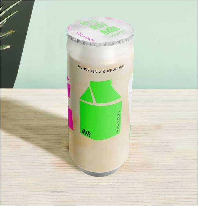 以法式手法的精髓調製的「台芭線」,從味道到包裝都充滿極致美學。(圖片提供/好喜堂HUNNY TEA)