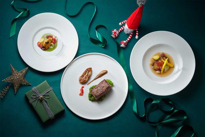 織心耶誕跨年套餐。(圖/誠品行旅提供)