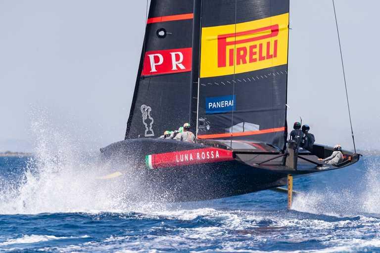 由PRADA冠名贊助的第36屆美洲盃帆船賽挑戰者選拔系列賽,宣佈將由沛納海首次擔任官方時計。(圖╱PANERAI提供)