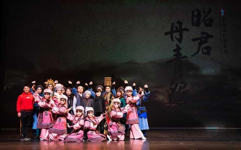 薪傳歌仔戲劇團而言,《昭君.丹青怨》可謂疫後重生,更是劇團成立30餘年來的一項新里程碑。