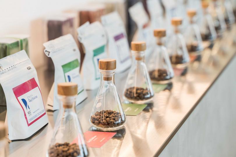 日本原裝咖啡豆也特地空運來台。(圖/REC COFFEE提供)