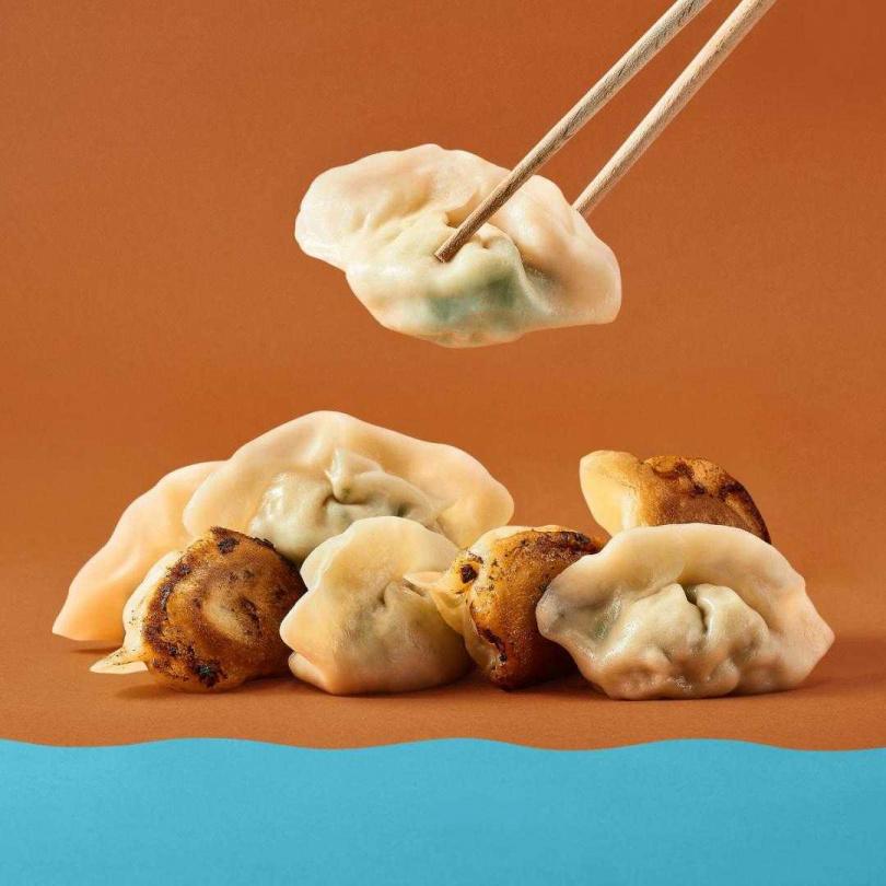 「浮憲東北餃」浮憲經典高韭綜合口味。(圖/Pinkoi提供)