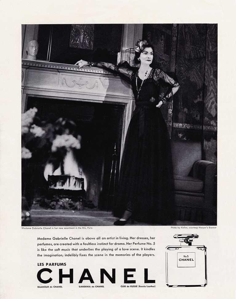 CHANEL「N°5」香水以香奈兒女士鍾愛的幸運數字「5」為命名,成為史上第一款「極富女人味」的女性香水。(圖╱CHANEL提供)