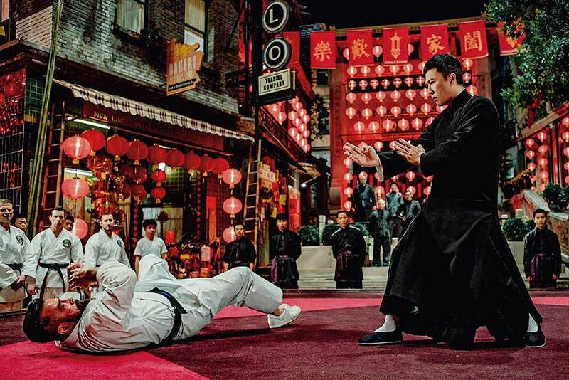 甄子丹因演出《葉問》系列電影,事業達到高峰。(圖/華映娛樂提供)
